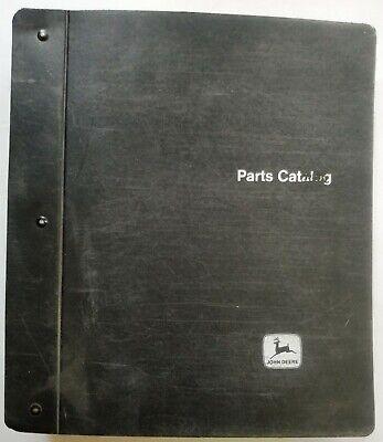 John Deere 1010 And 2010 Crawlers Parts Catalog Manual - Pc-727728 - In Binder