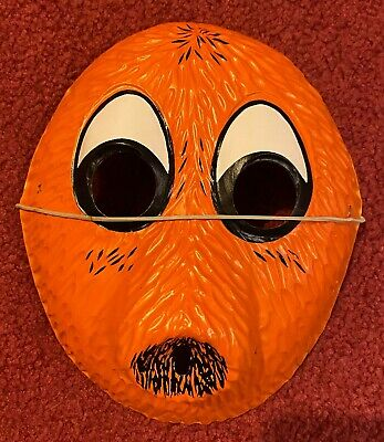 Vintage & Unused Q-Bert Collegeville 1983 Halloween Costume Mask