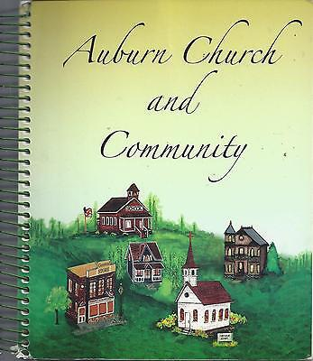 WEST UNION IA * AUBURN CHURCH & COMMUNITY COOK BOOK *ETHNIC GERMAN SCANDINAVIAN