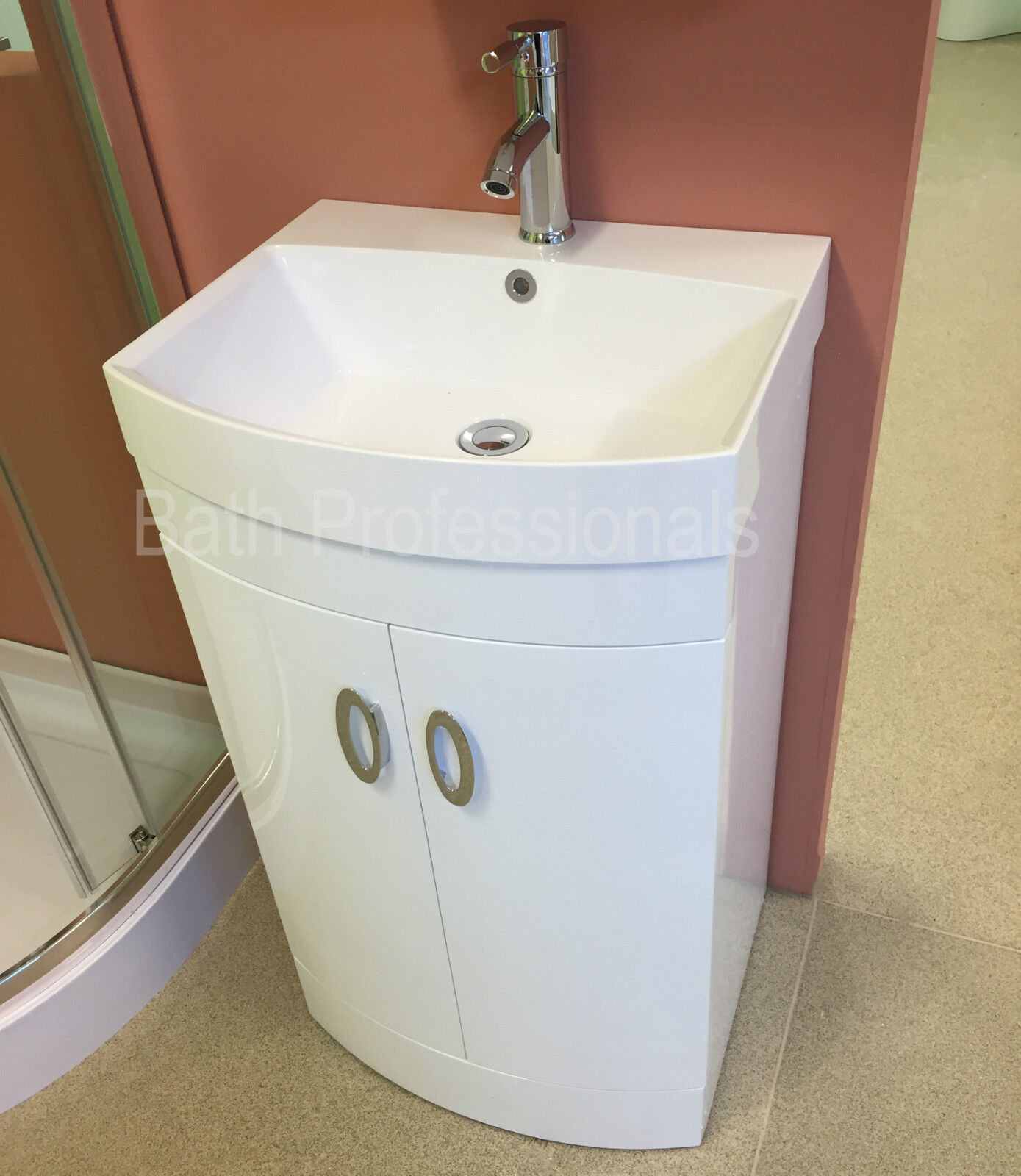 Bathroom Floor Standing Vanity Units : Vanity unit cabinet basin sink bathroom floor standing
