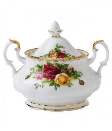 Royal Albert Old Country Roses Covered Sugar Bowl Bone China
