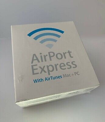 Apple Airport Express 54 Mbps 10/100 Wireless N base station - Brand new!!