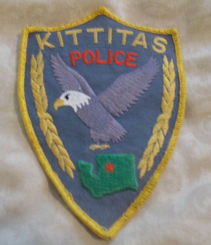 KITTITAS WASHINGTON POLICE PATCH USED