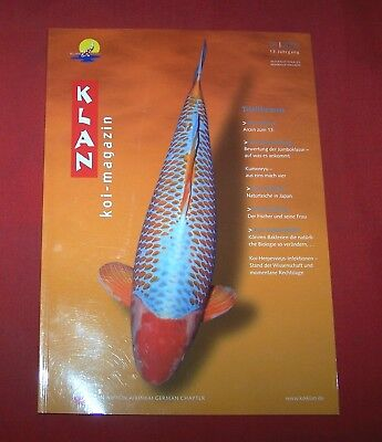 Klan Koi Magazin 2005 Nr  4 , 13. Jahrgang , Internationales Nishikigoi Magazin