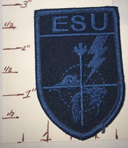 Sault Ste Marie Patch Ontario Canada RARE Tactical / ESU patch