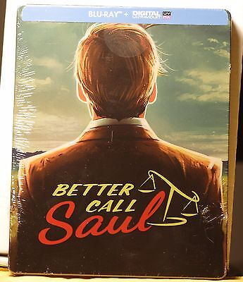 NEW BETTER CALL SAUL SEASON 1 ON BLU-RAY STEELBOOK! FRENCH +REGION FREE! (Best French Tv Shows)