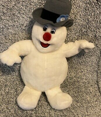 """Gemmy Industries Singing Frosty The Snowman Christmas 15"""" Plush"""