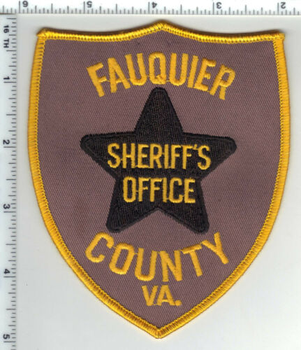 Fauquier County Sheriff (Virginia) Shoulder Patch from 1994