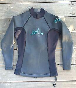 Xcel wetsuit top long sleeve women's Sz 6 Lismore Lismore Area Preview