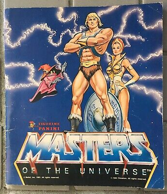 He-Man Masters Of The Universe Sticker Book With 100+ Stickers Panini Diamond