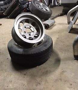 4 Rims (2 have old tyres in them) 14 inch ford stud patern Castle Rock Muswellbrook Area Preview