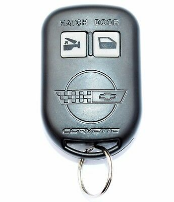 New Keyfob Key Fob Remote Case Shell Snap Style Fits Chevy Corvette C4 1993-1996