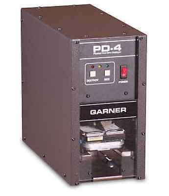 New Garner Pd-4 Mobile Physical Hard Drive Destroyer-with Free Shipping Case