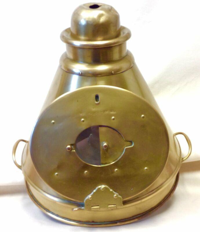 Binnacle Top, Brass, Circa Late 1800