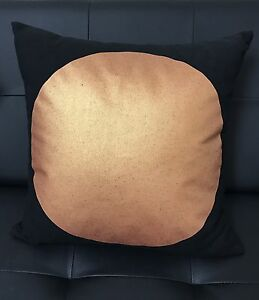 Square cushion copper - 2 quantity black Maroubra Eastern Suburbs Preview