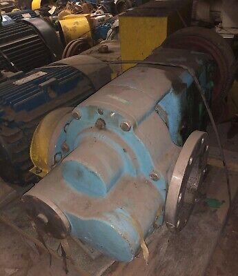 Waukesha 6 5080 Positive Displacement Ss Pump W50 Hp Motor Gearboxitem 34