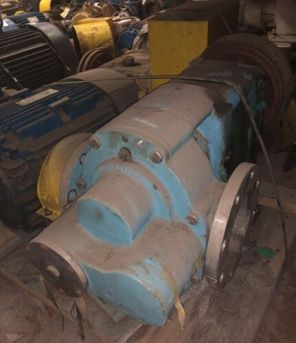 "Waukesha 6"" 5080 Positive Displacement SS Pump w/50 HP Motor & Gearbox(Item #34)"