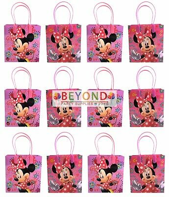 Disney Minnie Mouse Party Favor Supplies Goody Loot Gift Bags