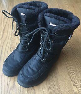 Bottes d'hiver Kamik, femme taille 9/size 9 women's Kamik boots