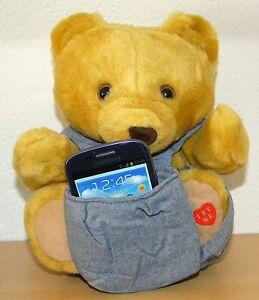Handyhalter Handyständer Smartphonehalter Smartphoneständer Handystuhl Teddybär