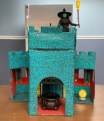 MEGO WIZARD OF OZ 1974 WICKED WITCH'S CASTLE PLAYSET - -