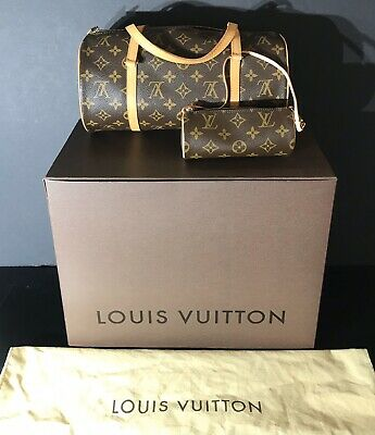 *AUTHENTIC LOUIS VUITTON PAPILLON 30 - INCLUDES ORIG. BOX, DUST COVER, GIFT BAG