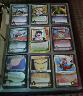 Dragon ball Z & Magic The Gathering Deckmaster playing cards