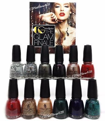 China Glaze Nl Glam Finale Holiday 17 Collection  12Pcx0 5Oz  1577 1588