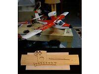 """63/"""" wing span Lake Buccaneer R//c Seaplane short kit//semi kit and plans"""