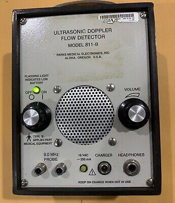 Parks Medical Electronics Doppler Flow Detector Model 811-b