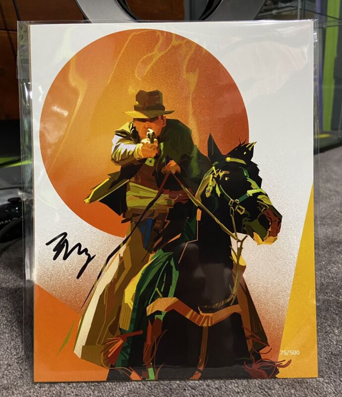 Indiana Jones BAM! Rare Limited Edition 8x10 #75/500