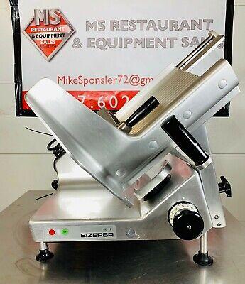 Bizerba Se12 Heavy Duty Manual Commercial Meat Deli Cheese Slicer New13 Blade