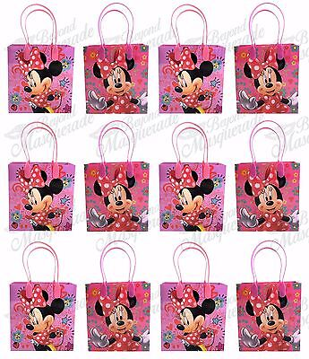 Minnie Mouse Party Favor Goody Bag Goodie Bag Gift Bag Birthday - Goodie Bag