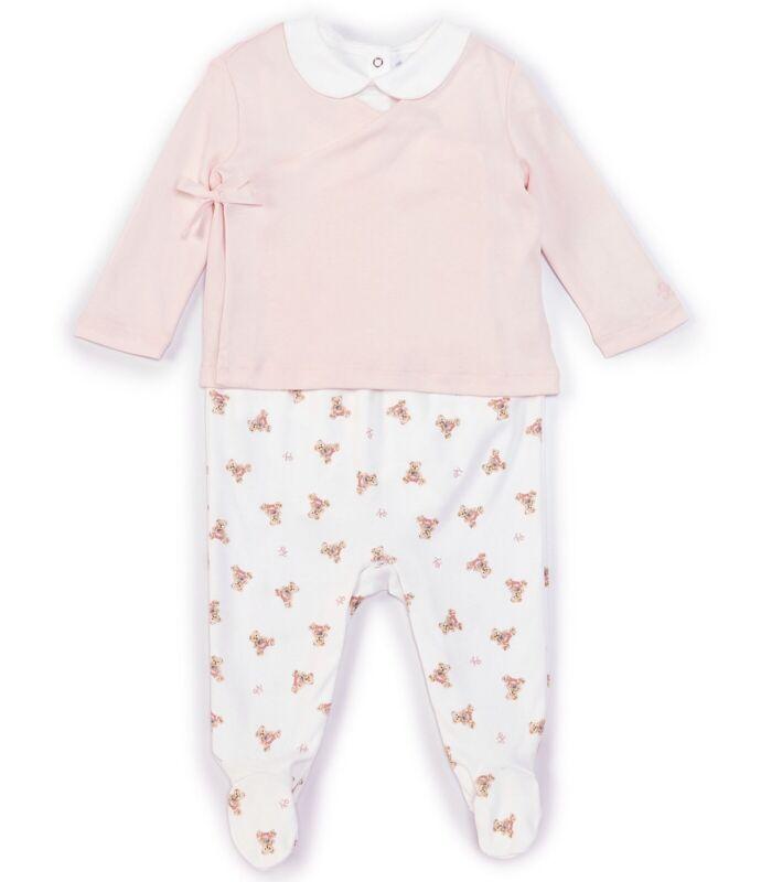 Ralph Lauren Baby Girls 6 Months Bear Polo Layette Set