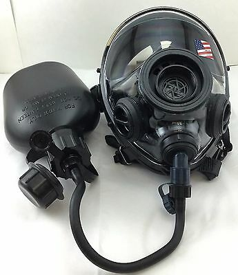 Sge 4003 Infinity Nbc Tactical Gas Mask W Drinking Port Canteen Made In 2018