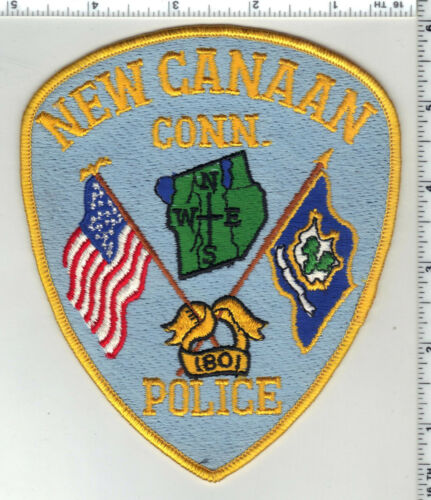 New Canaan Police (Connecticut) 5th Issue Shoulder Patch