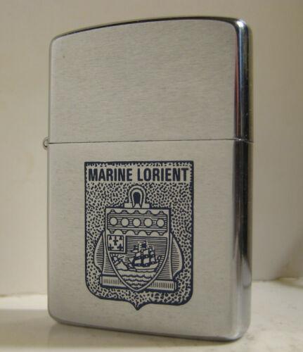 1989 ZIPPO MARINE LORIENT FRANCE