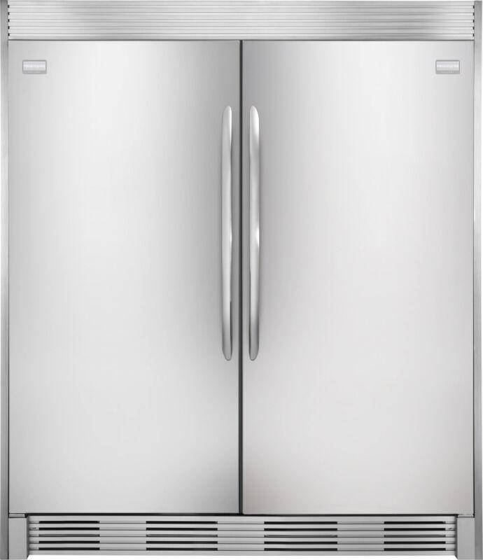 Frigidaire Gallery Stainless Refrigerator & Freezer Combo Fgru19f6qf Fgfu19f6qf