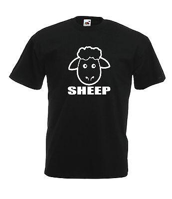 (SHEEP funny farm animal xmas birthday gift idea mens womens NEW T SHIRT TOP TEE)