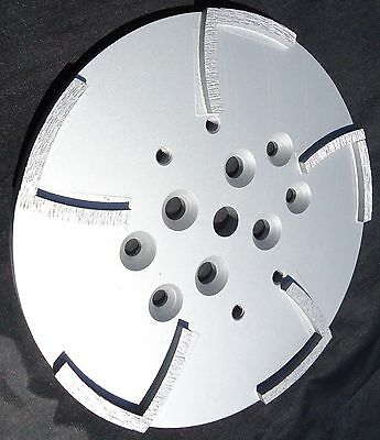2pk-10mk Diamond Edco Blastrac Concrete Grinder 10 Seg Diamond Disc Plate-best