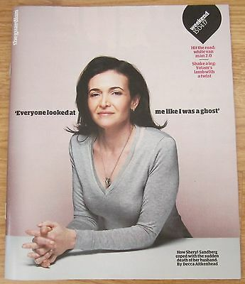 Sheryl Sandberg – Guardian Weekend Magazine – 15 April 2017