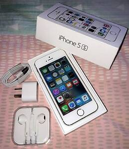 Gold iPhone 5s 16gb (good condition, all accessories) Merrimac Gold Coast City Preview