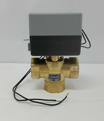 Zone Valve 3 Way W1 Female Pipe Threaded Fpt Ports