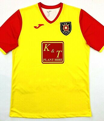 Joma ALBION ROVERS 2019/20 S Home Football Shirt Soccer Jersey ARFC Top Kit image