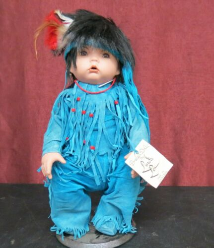 Little Arrow Porcelain Doll by Linda Lee Made in Cave Creek