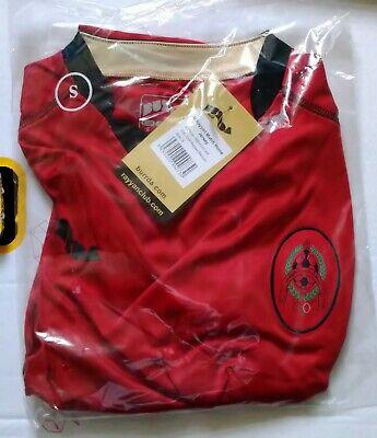 AL RAYYAN SC SPORTS CLUB 2007 RED HOME FOOTBALL SHIRT BURRDA SIZE S BNIP QATAR  image
