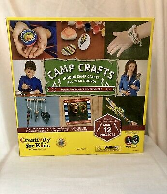 Creativity for Kids Camp Crafts Indoor Faber-Castell (Camp Crafts)