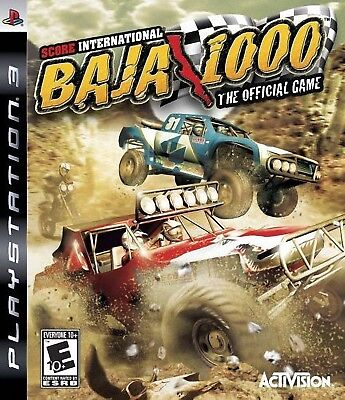 Score International Baja 1000 The Official Game Ps3   Very Good   Game Disc Only