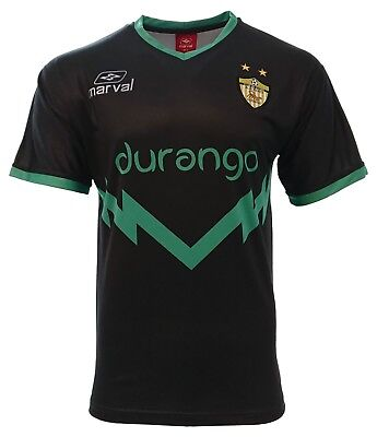 Durango Adult Men Soccer Jersey Black by Marval 100% -