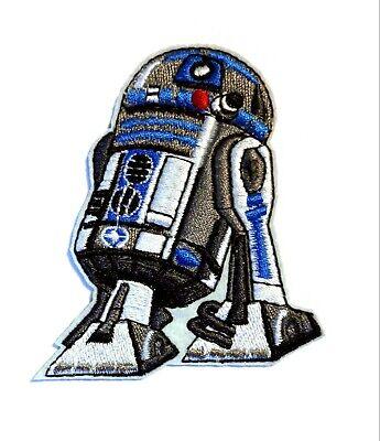 Star Wars - R2-D2 - Uniform Patch Kostüm Aufnäher zum Aufbügeln - neu ()